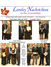 Click here to download February to March 2015 Newsletter